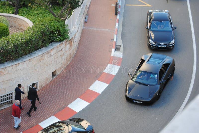 Lamborghini Murcielago royalty-vrije stock afbeeldingen