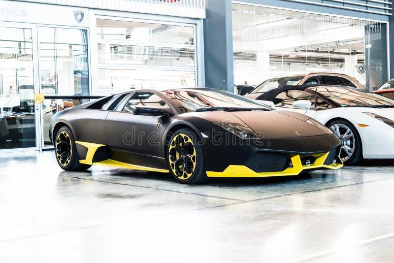 Lamborghini Murcielago 图库摄影