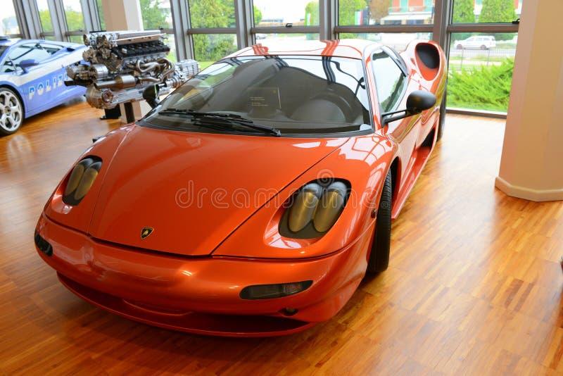 Lamborghini P147 Zagato 免版税库存照片