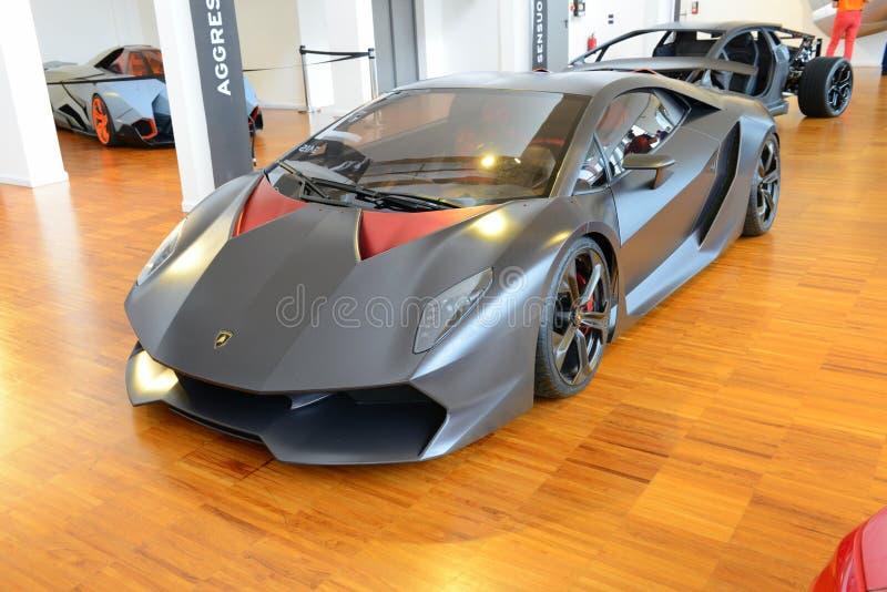 Lamborghini Sesto Elemento стоковая фотография rf