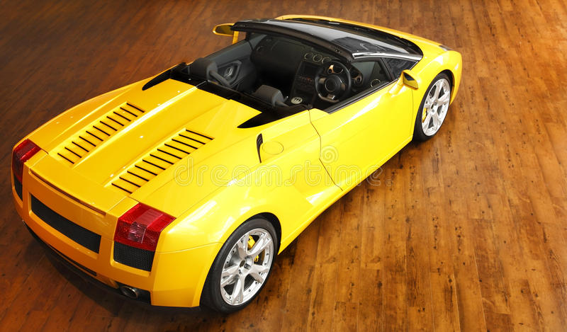 Lamborghini sports car stock photography