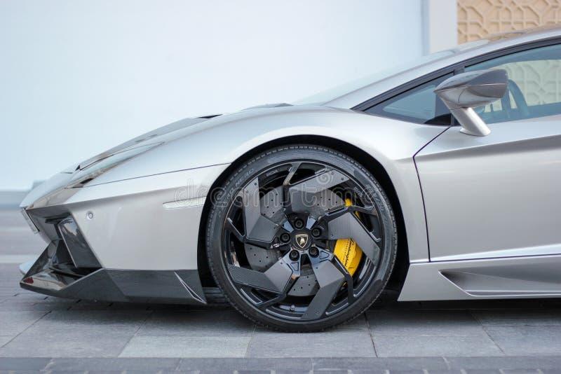 Lamborghini sports car royalty free stock photo