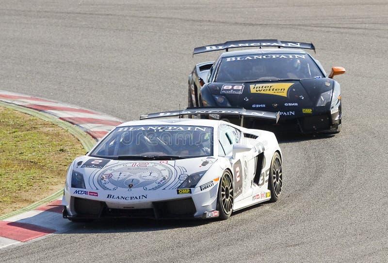 Lamborghini Trofeo estupendo fotos de archivo libres de regalías