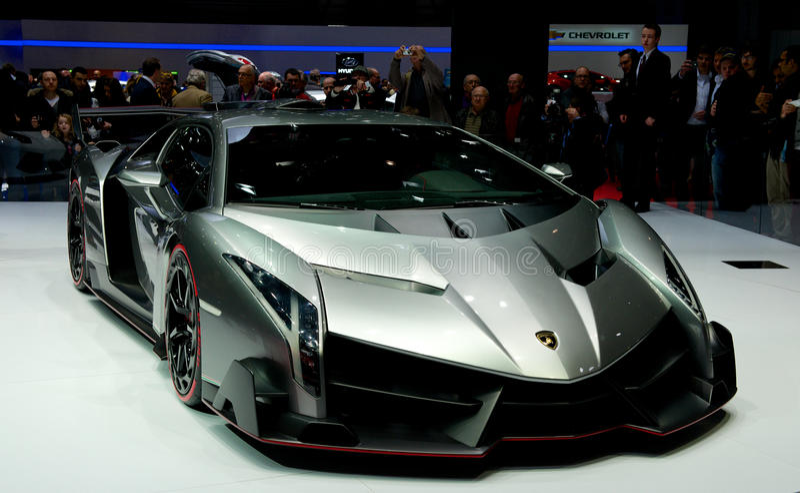 Lamborghini Veneno photographie stock libre de droits