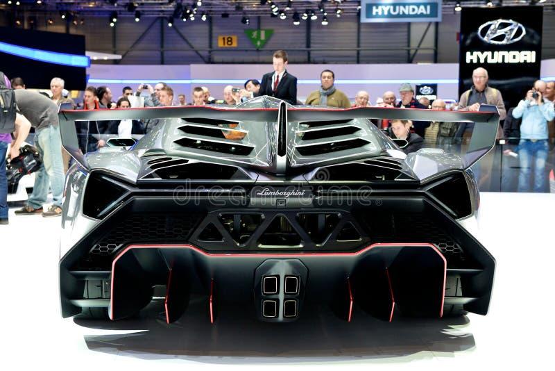 Lamborghini Veneno stock foto
