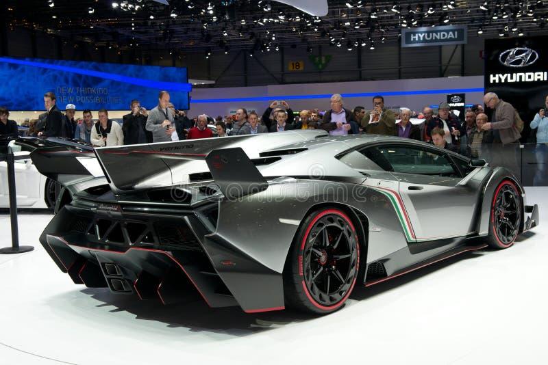 Lamborghini Veneno royalty-vrije stock fotografie