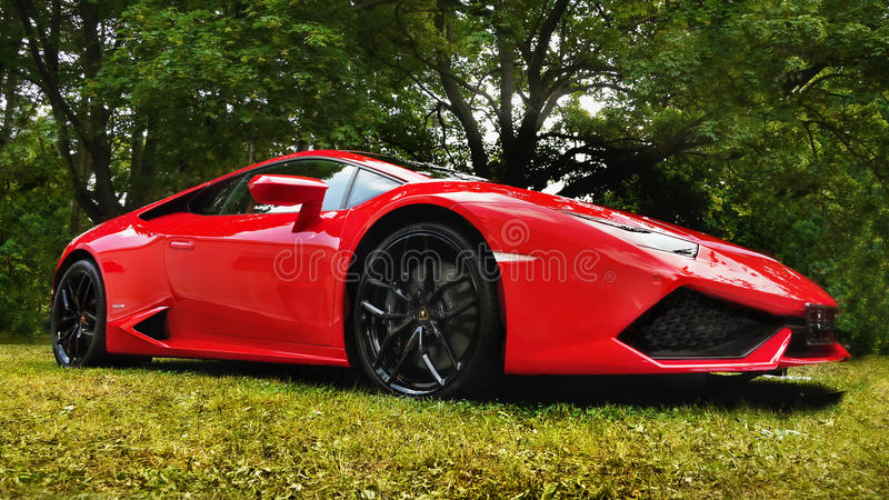 Lamborghini, voiture de sport, voiture superbe images stock