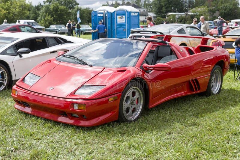 Lamborgini car royalty free stock image