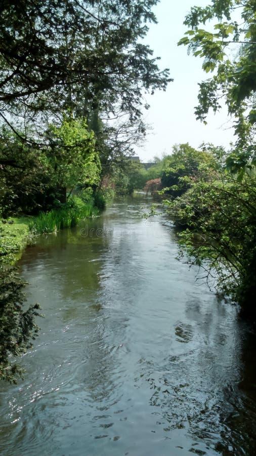 Lambourn river stock photos