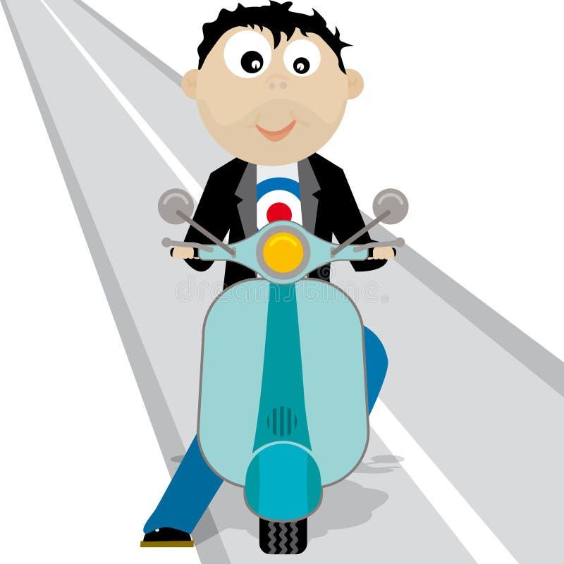 Lambretta01 (vettore) illustrazione vettoriale