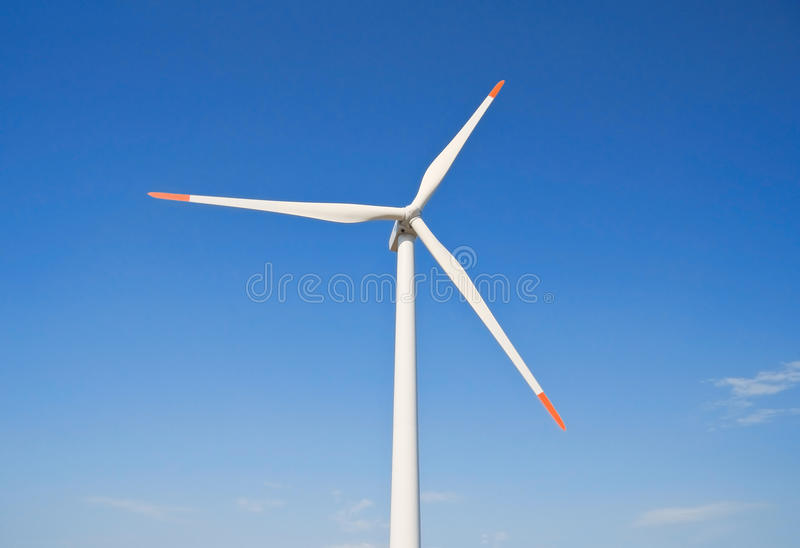 Lame de turbine de vent. images libres de droits