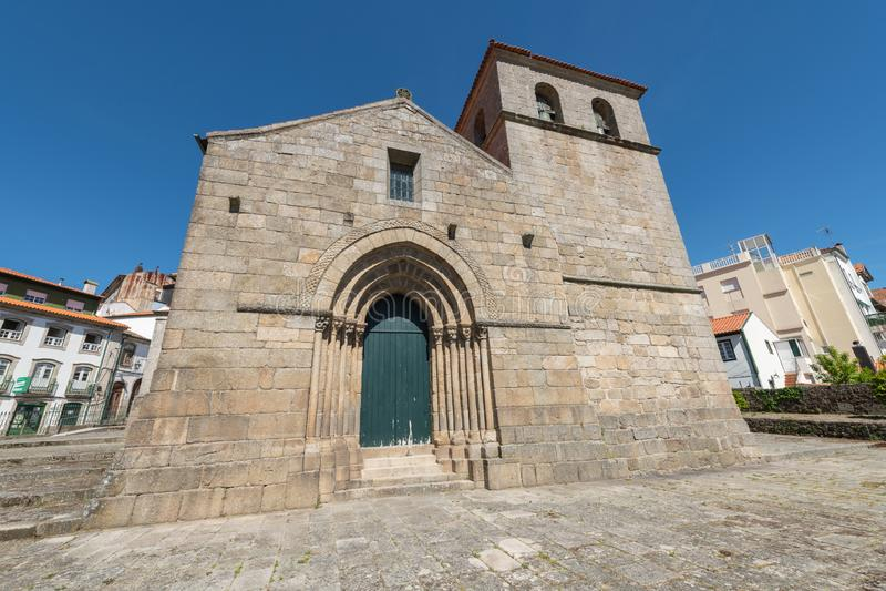 Church of Santa Maria de Almacave royalty free stock image