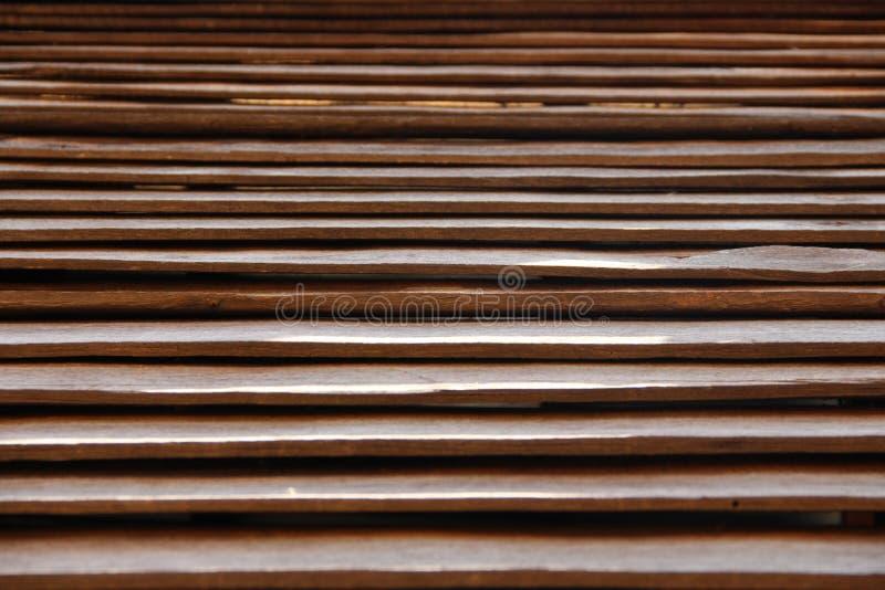 Lamelle en bois photographie stock libre de droits