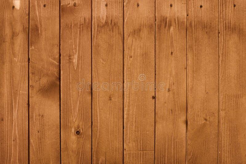Lamelles brunes verticales avec des clous Fond photos libres de droits
