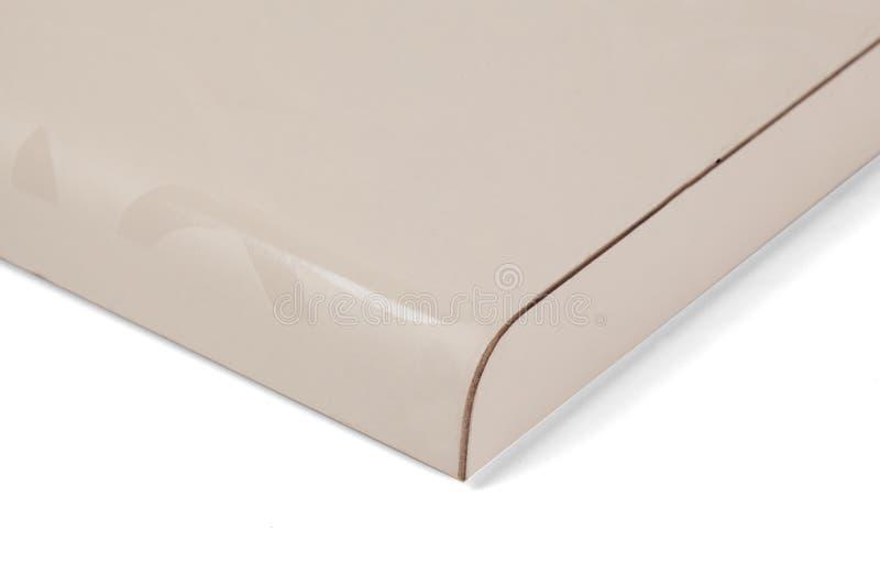 Lamellierte Spanplattenspanplatte wird in den Möbeln ind benutzt stockfoto