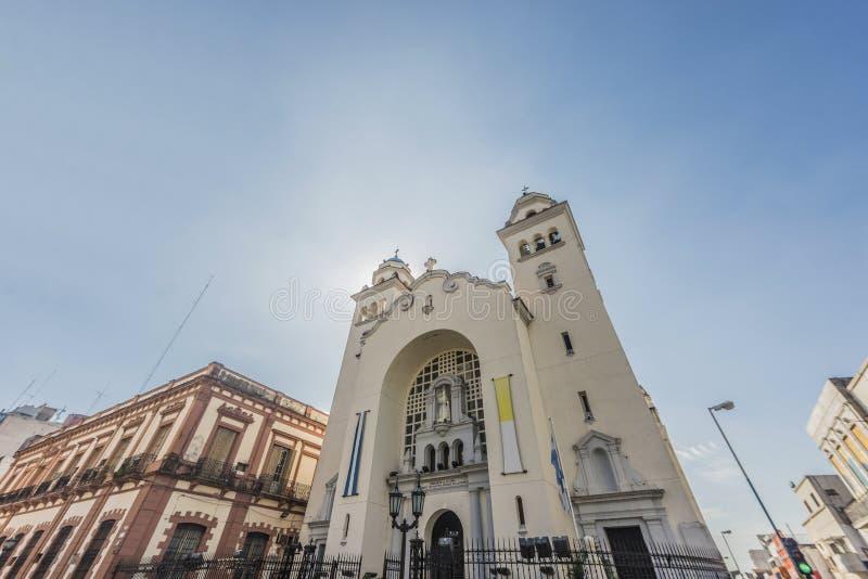 LaMerced kyrka i Tucuman, Argentina. arkivfoto