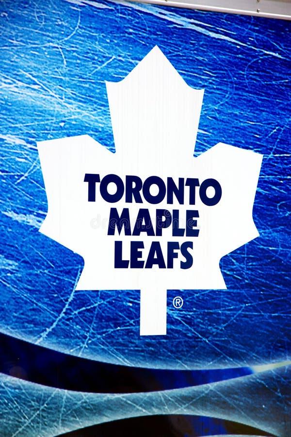 Lames d'érable de Toronto image stock