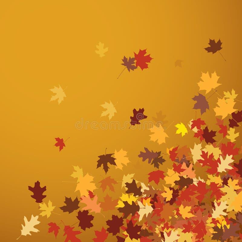 Lames d'automne illustration libre de droits
