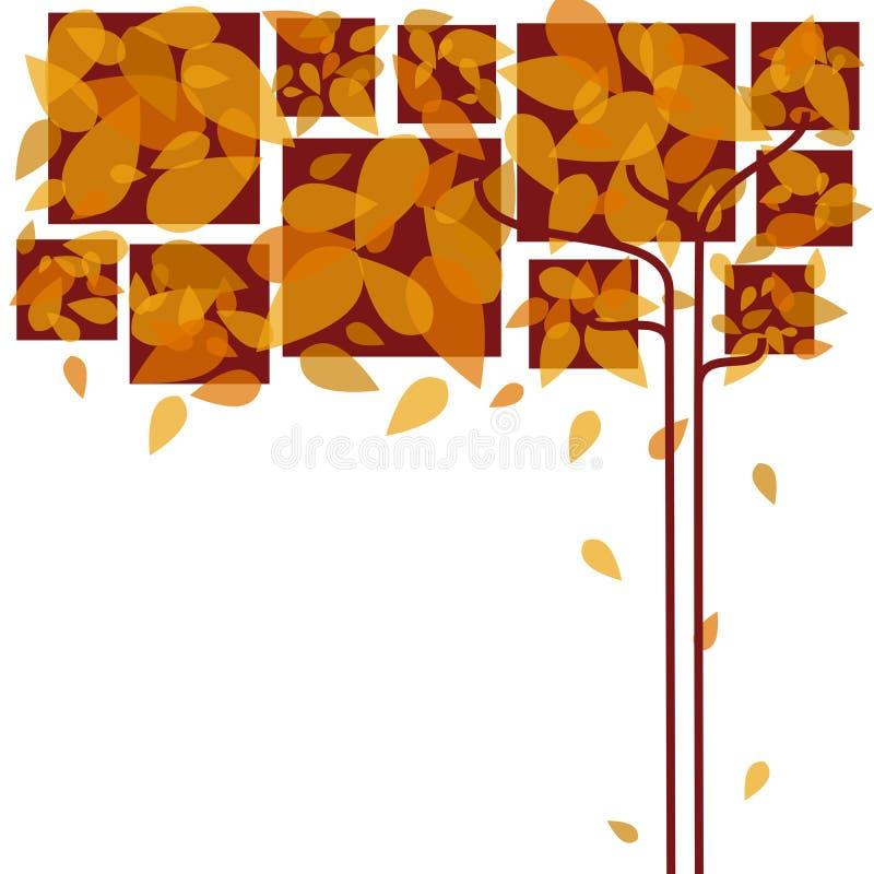 Lames d'automne abstraites photos libres de droits