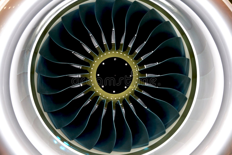 Lames d'engine image stock