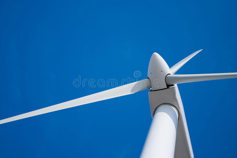 Lames de turbine de vent photo stock