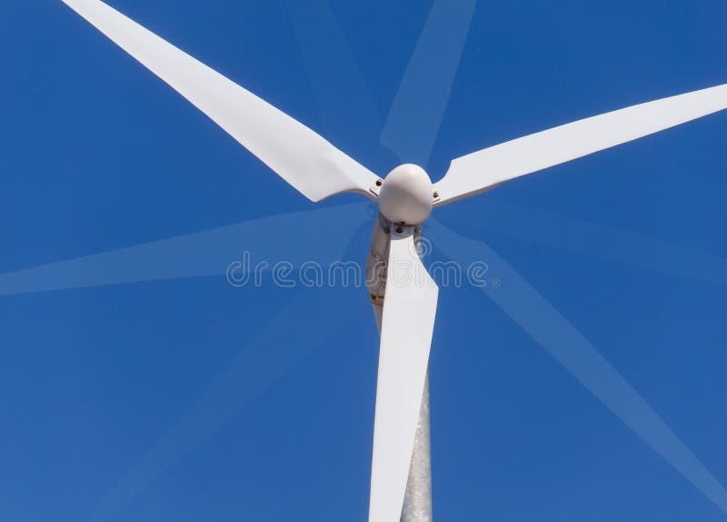 Lamierine di energia di vento fotografia stock libera da diritti