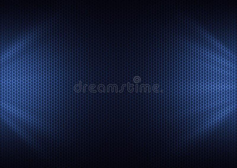 Laminado de metal azul ilustración del vector