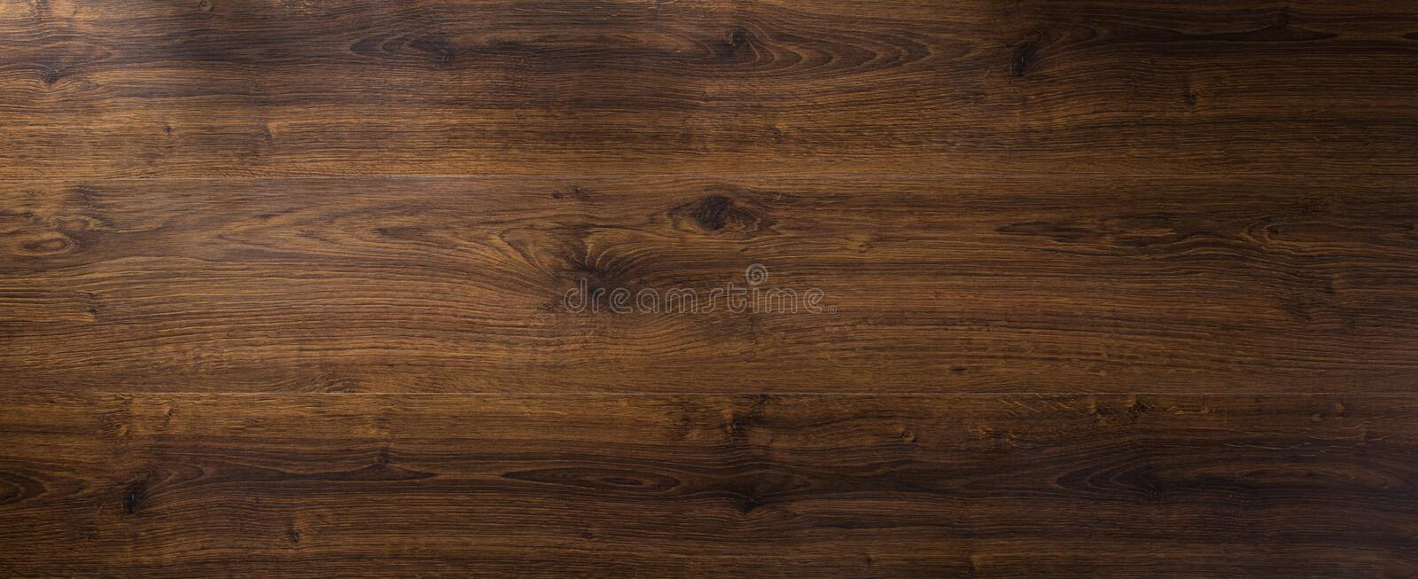 Laminate floor background texture. Laminate floor panoramic wooden background texture royalty free stock photography