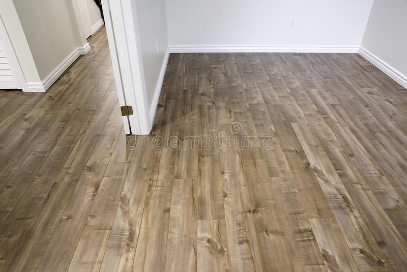 Laminate Flooring - Driftwood royalty free stock photography