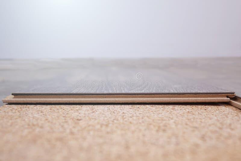 Laminate Flooring. improvement,. Laminate Flooring. improvement construction hardwood royalty free stock photos