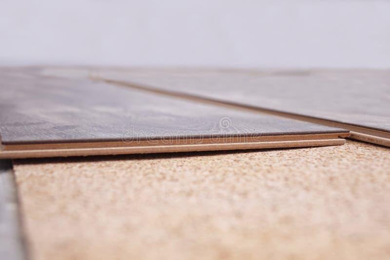 Laminate Flooring. improvement,. Laminate Flooring. improvement construction hardwood stock image