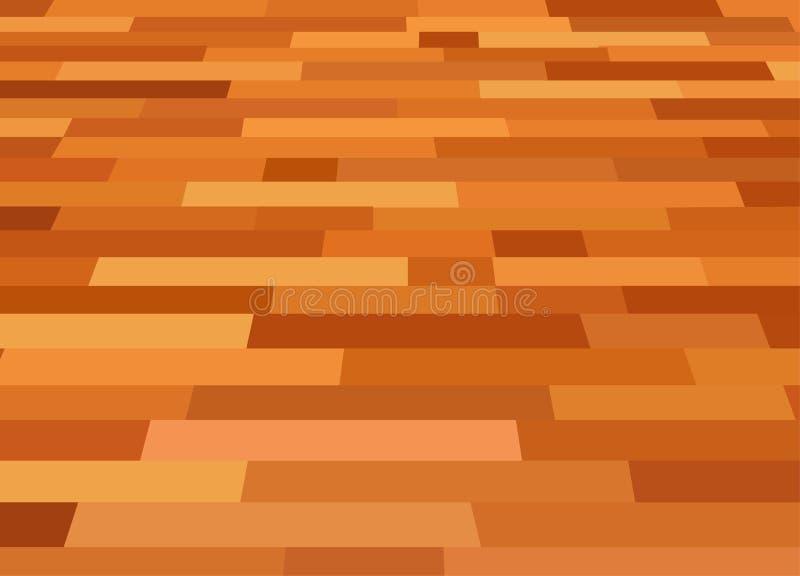 Laminated flooring vector stock illustration