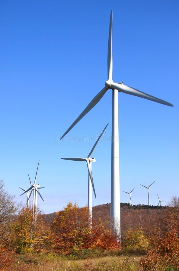 Laminatoi di vento fotografie stock