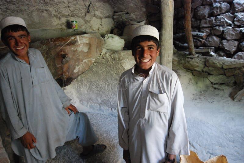 Laminatoio afgano fotografia stock libera da diritti