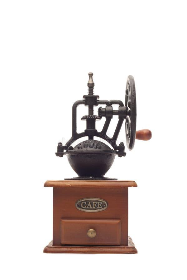 Laminatoio di caffè antico immagini stock