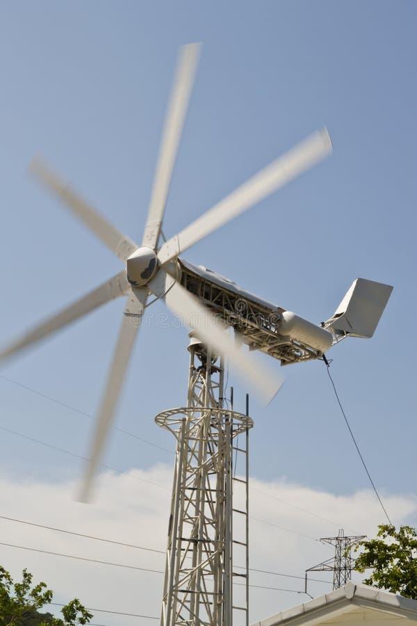 Laminatoio di vento, immagine stock libera da diritti