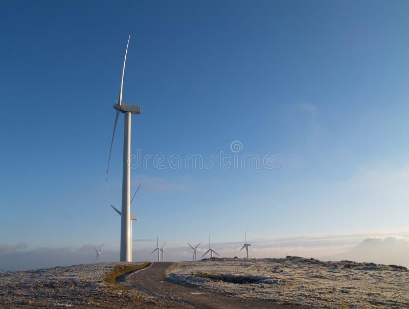 Mulino di vento immagini stock