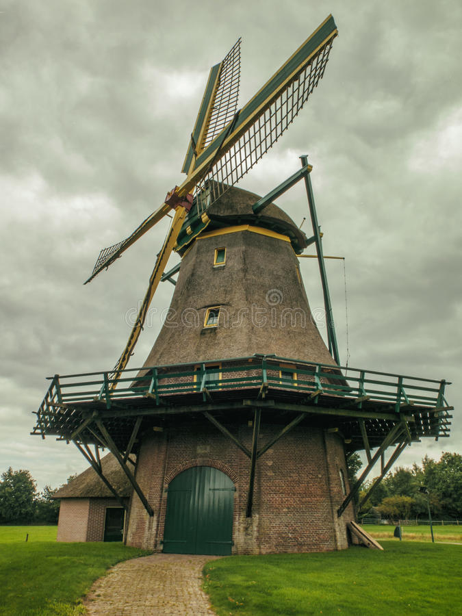 Laminatoio olandese fotografia stock