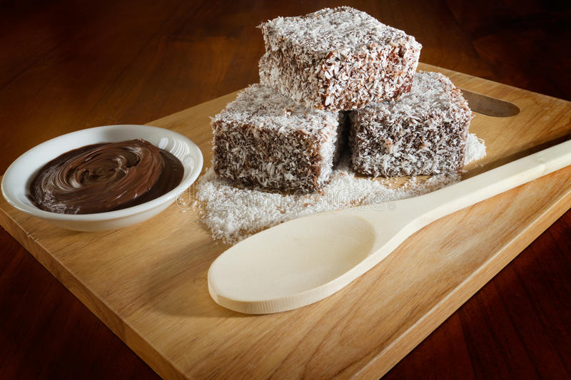 Lamingtons stockfotos