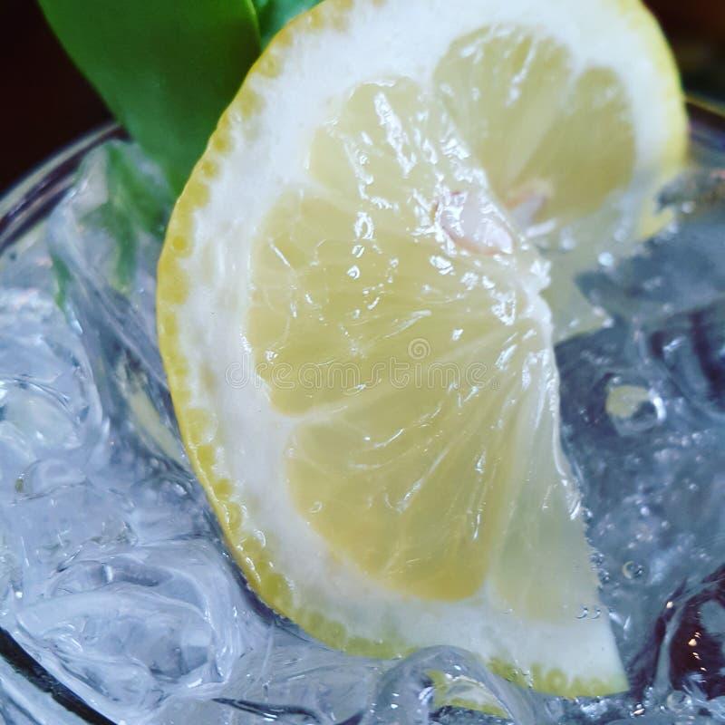 Lamon soda stock image