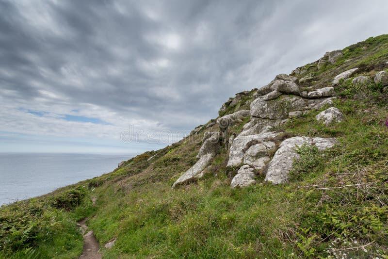 Lamornainham Cornwall Engeland het UK royalty-vrije stock fotografie