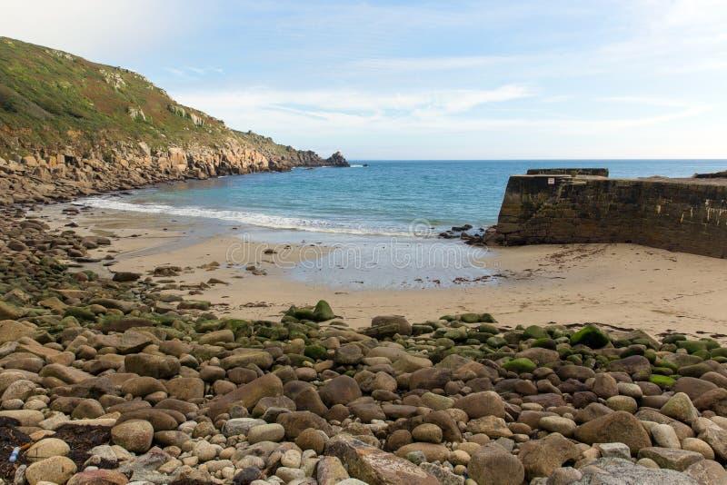 Lamornainham Cornwall Engeland het UK op het Penwith-schiereiland royalty-vrije stock afbeelding