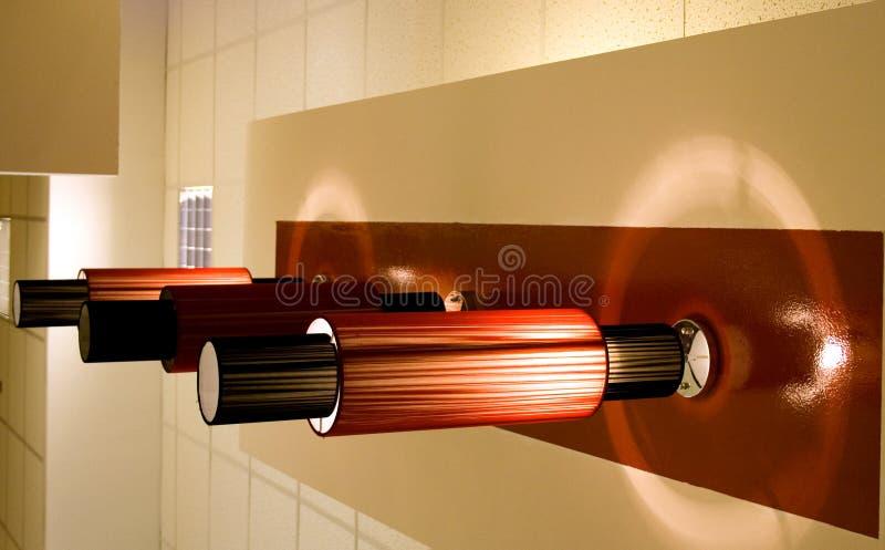Lamp. Light technology hifi hiend hitech lighting style device energy royalty free stock photography