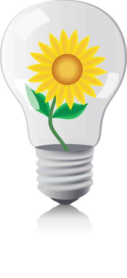 Lamp. royalty free illustration