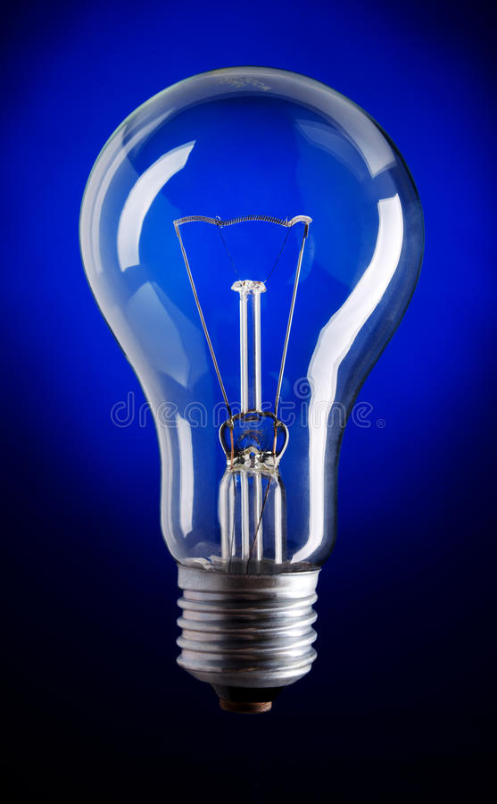 Download Lamp stock image. Image of energy, glow, lightbulb, blue - 22304047
