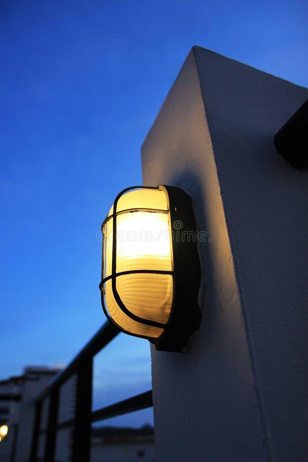 Download Lamp stock photo. Image of pole, lantern, lighting, wall - 24551578