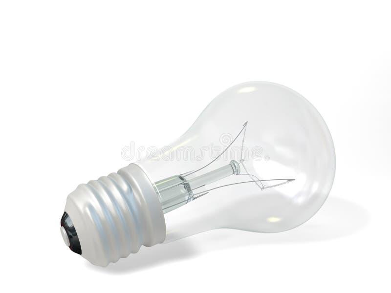 Download Lamp stock illustration. Image of glass, energy, light - 26535763