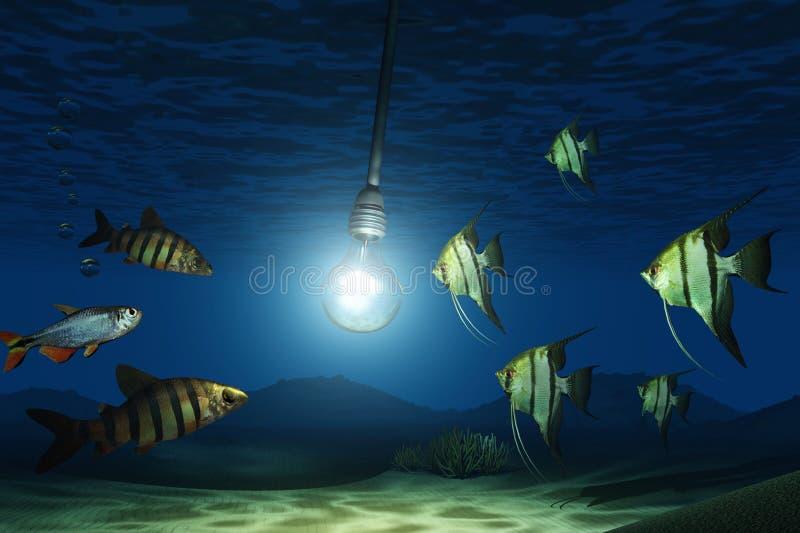 Lamp stock illustratie