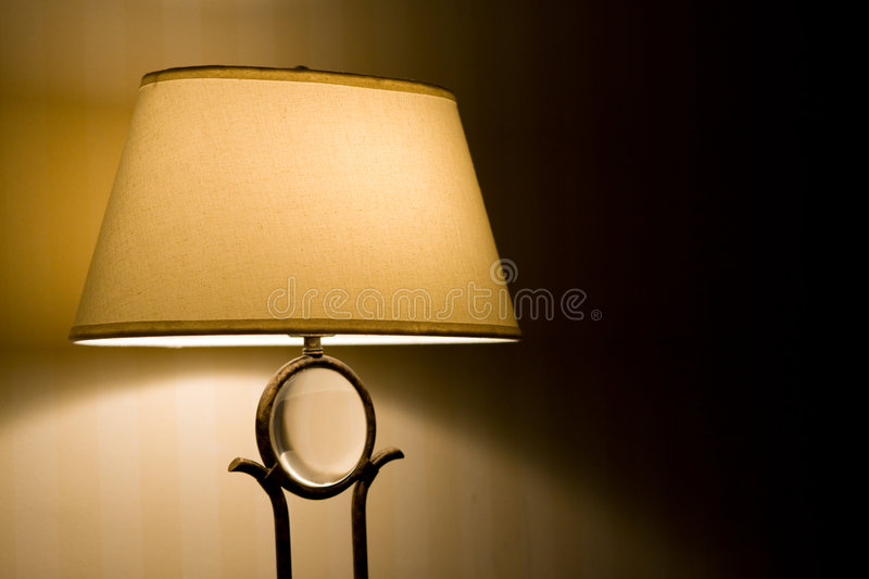 Download Lamp stock photo. Image of cast, gold, alone, light, yellow - 7663050