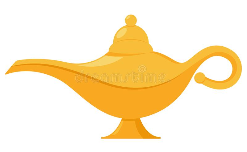 Royalty-Free (RF) Genie Clipart, Illustrations, Vector Graphics #1